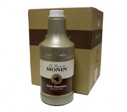 Monin Dark Chocolate Sauce 4 x 1.89L
